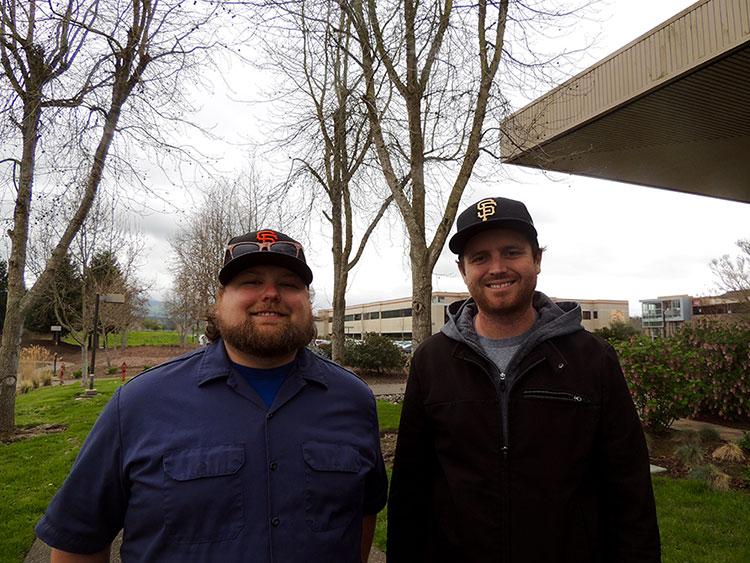 Instructors Holt & Watkins